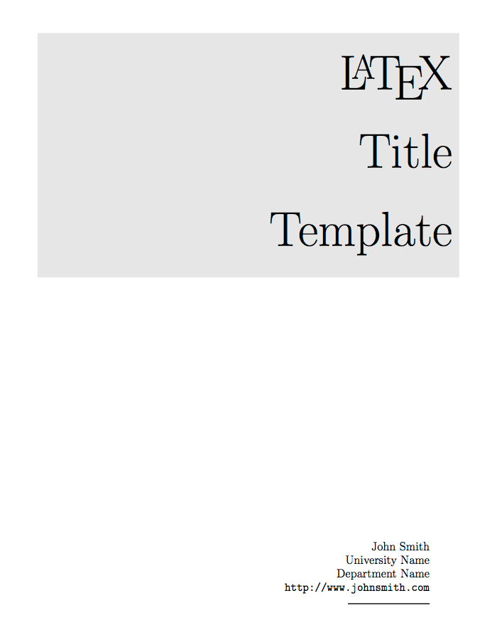 DOC-Sample Cover Page Template-download