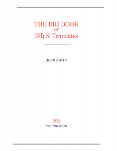 DOC-Sample Title page template