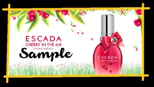 Free-Sample-Of-Escada-Cherry perfume perfumes for women coupon samples