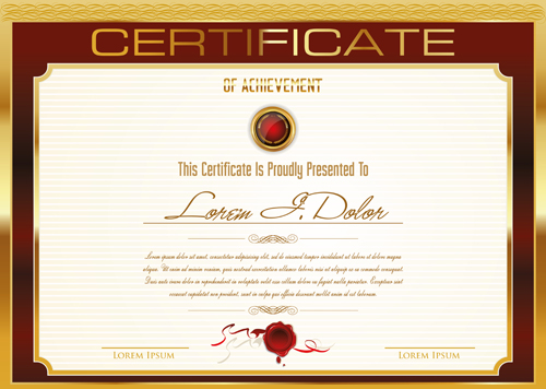 template certificate – Certificate Samples