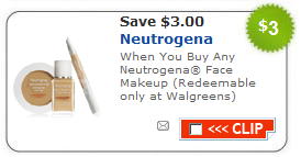 Neutrogena-Cosmetics-foundation makeup samples and coupons