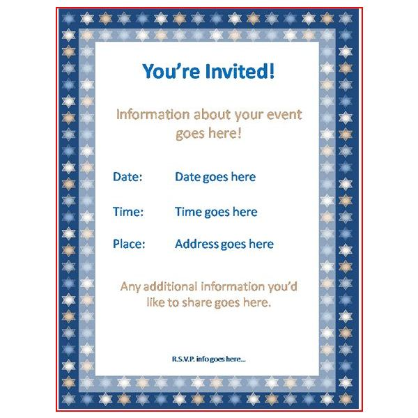 Formal Invitations Templates Events Invitations Ideas – Formal Invitation Templates