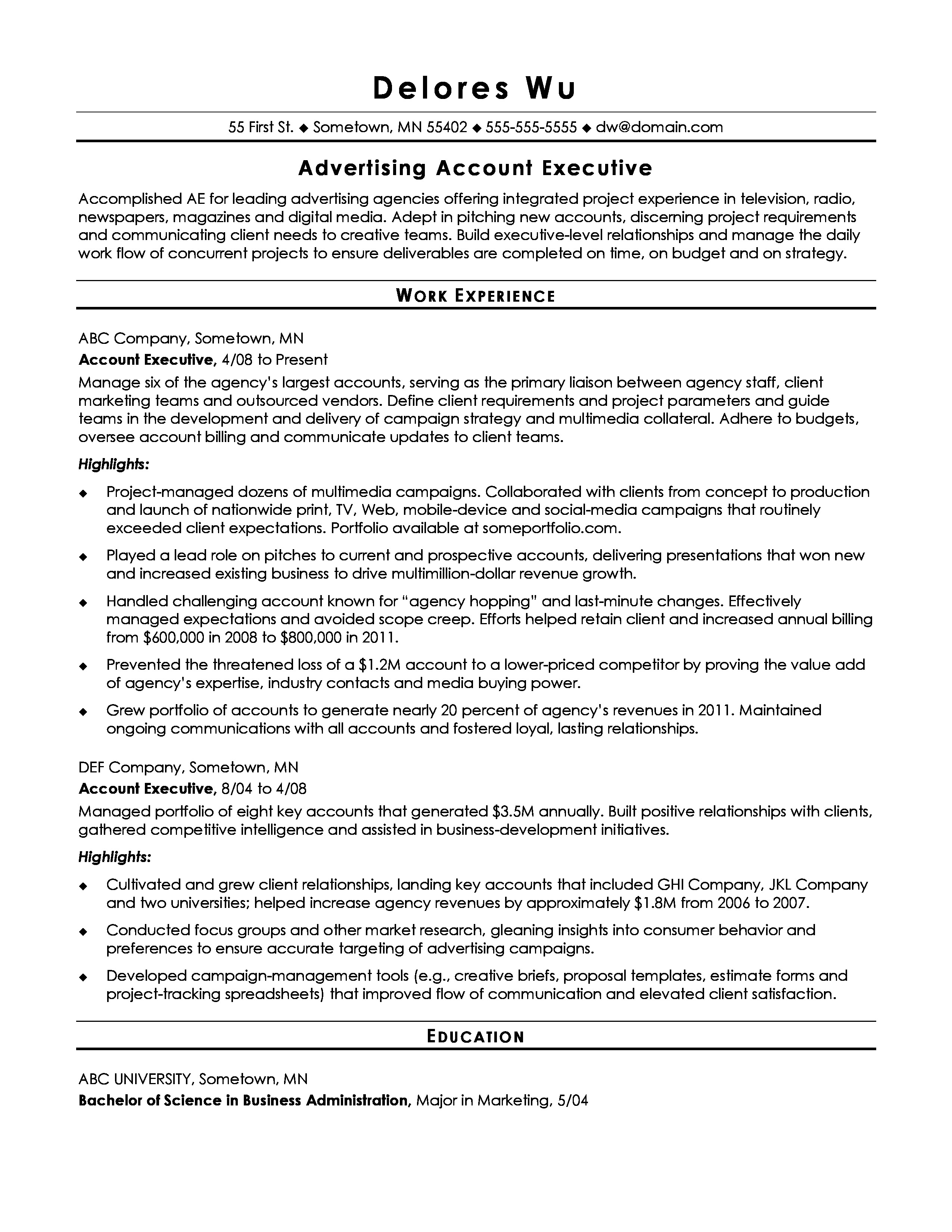 resume before page 0