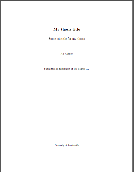 Phd thesis confidential