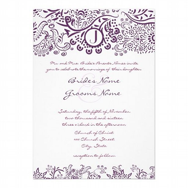 wedding invitation word template | wblqual, Invitation templates