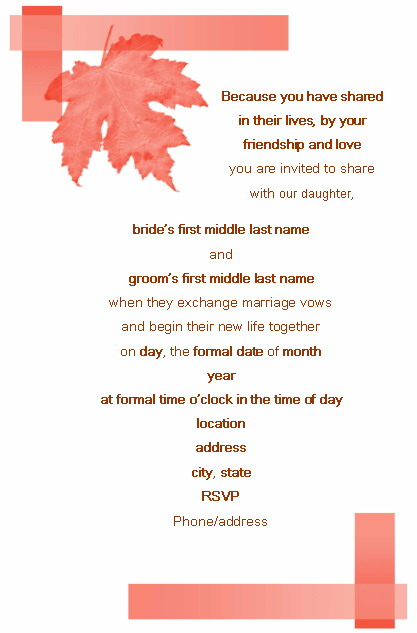 Official Wedding Invitation Mail Format The Best Flowers Ideas – Marriage Invitation Mail Format
