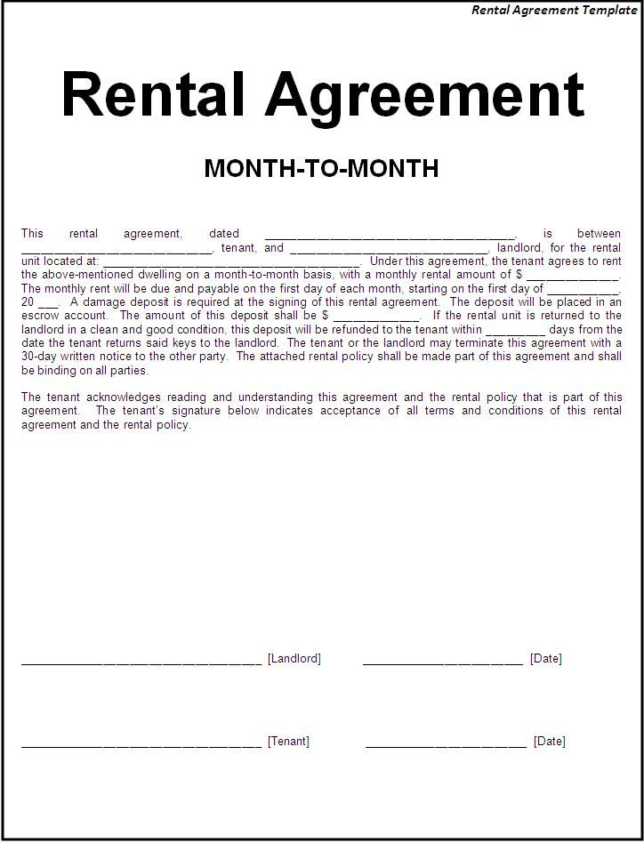 Agreement Templates – Simple Sales Contract Form