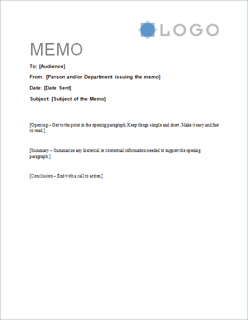 sample-memo-letter-template