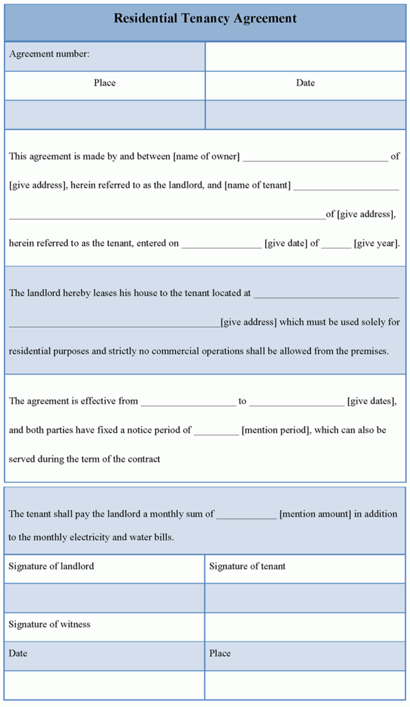 Printable-Residential-Tenancy-Agreement-Templates