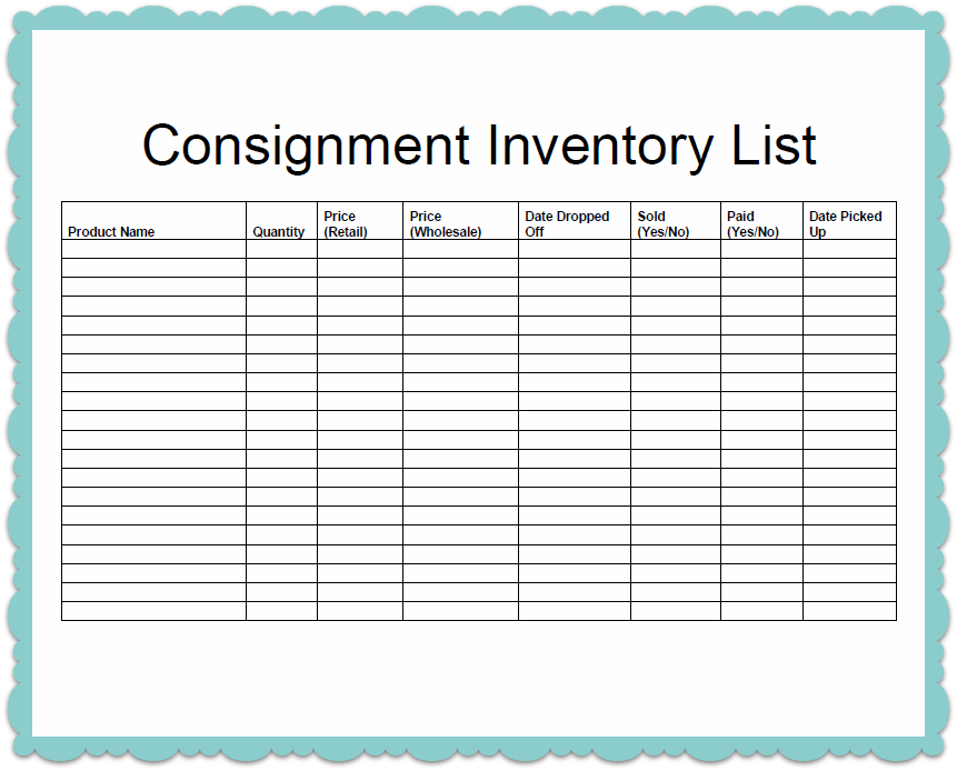 templates-for-inventory-samples