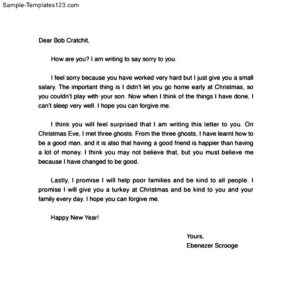 Apology Letter To Friend For Mistake  Letter Of Apology For Mistake