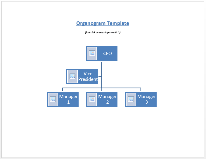 organogram templates samples and templates