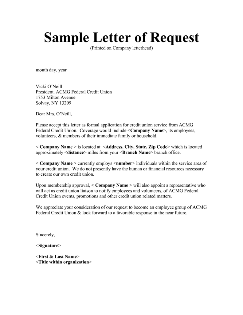 Requisition Letter Templates – Requisition Letter