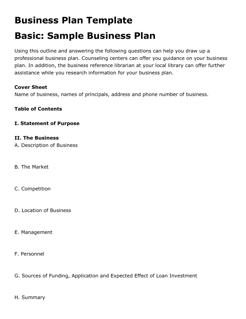 free-basic-business-plan-template-pdfs