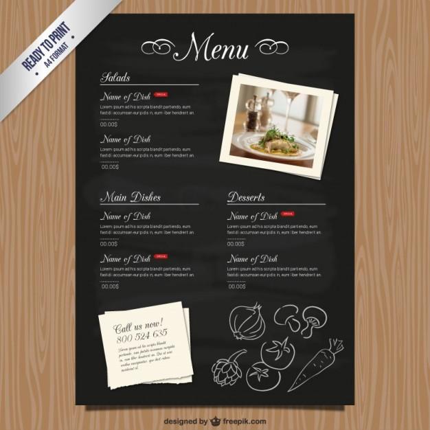 free-restaurant-menu-template