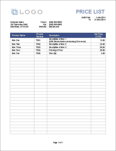 printable-price-list-template-sample-pdf