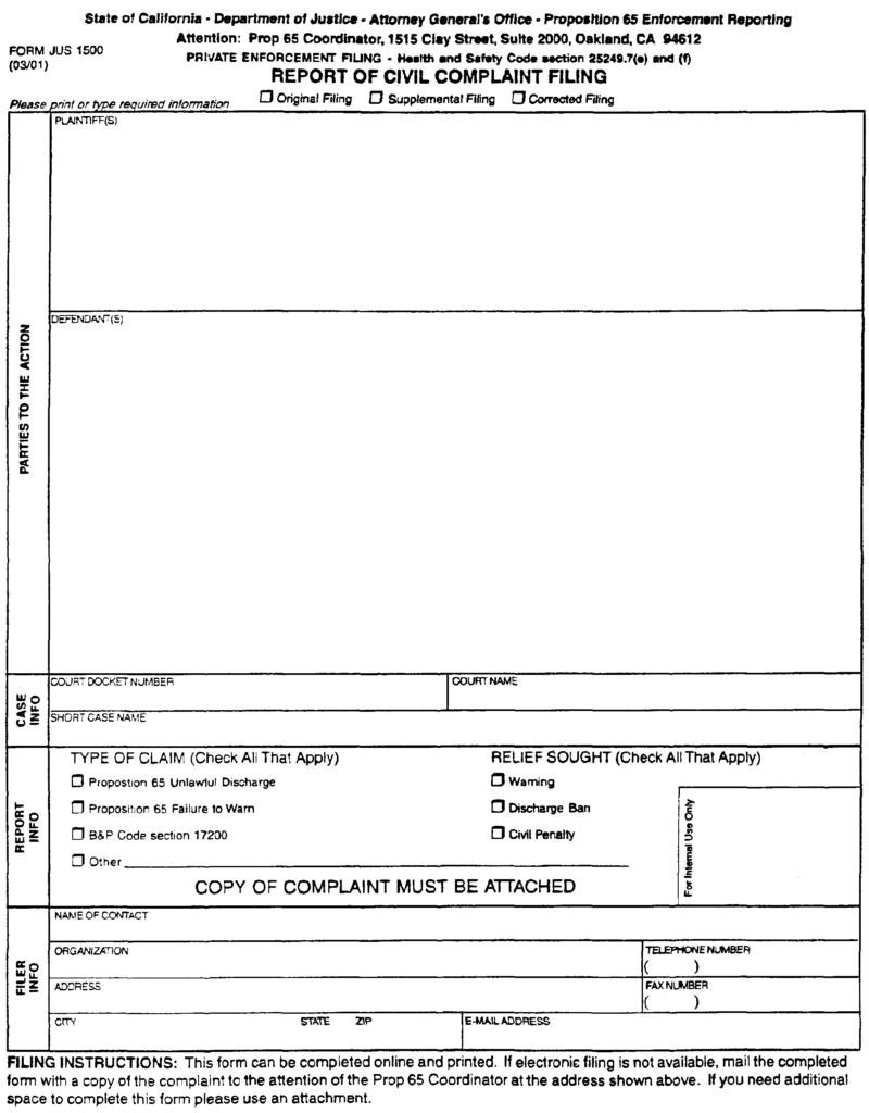 free-formatted-Complaint-as-filed-w-docket-template