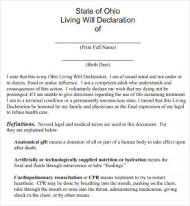 FreeusaLastwillandtestamenttemplatepdf - Ohio last will and testament template