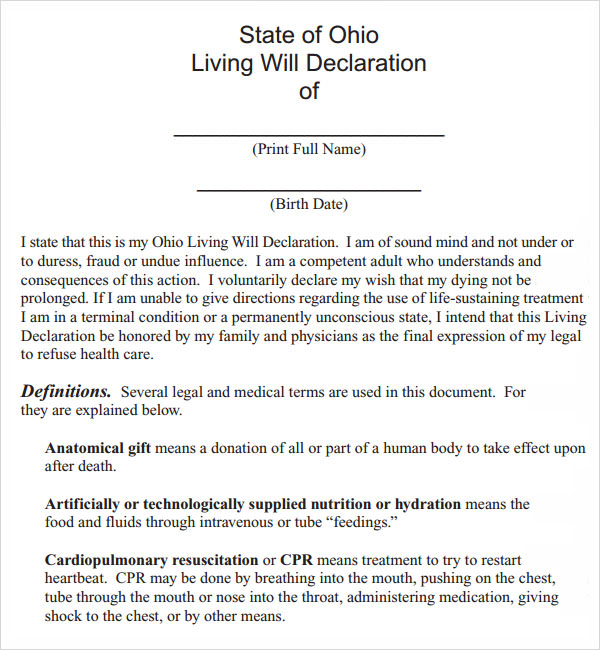 Free usa last will and testament template pdf maxwellsz