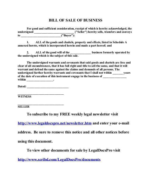 free-sample-bill-of-sale-of-business-pdf