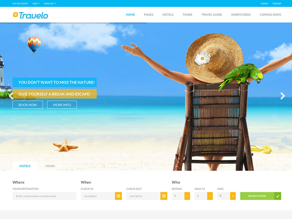 Travelo-Travel-Tour-Booking-palm-tree-themes-templates