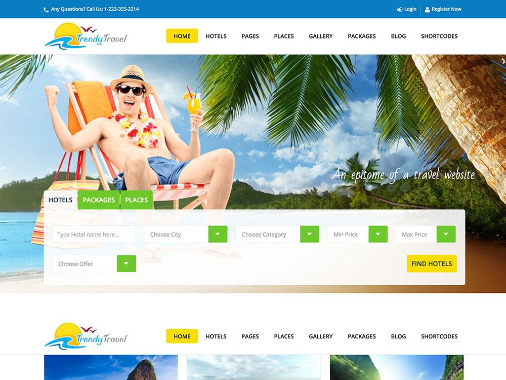 Trendy-Travel-WordPress-palm-tree-themes-templates