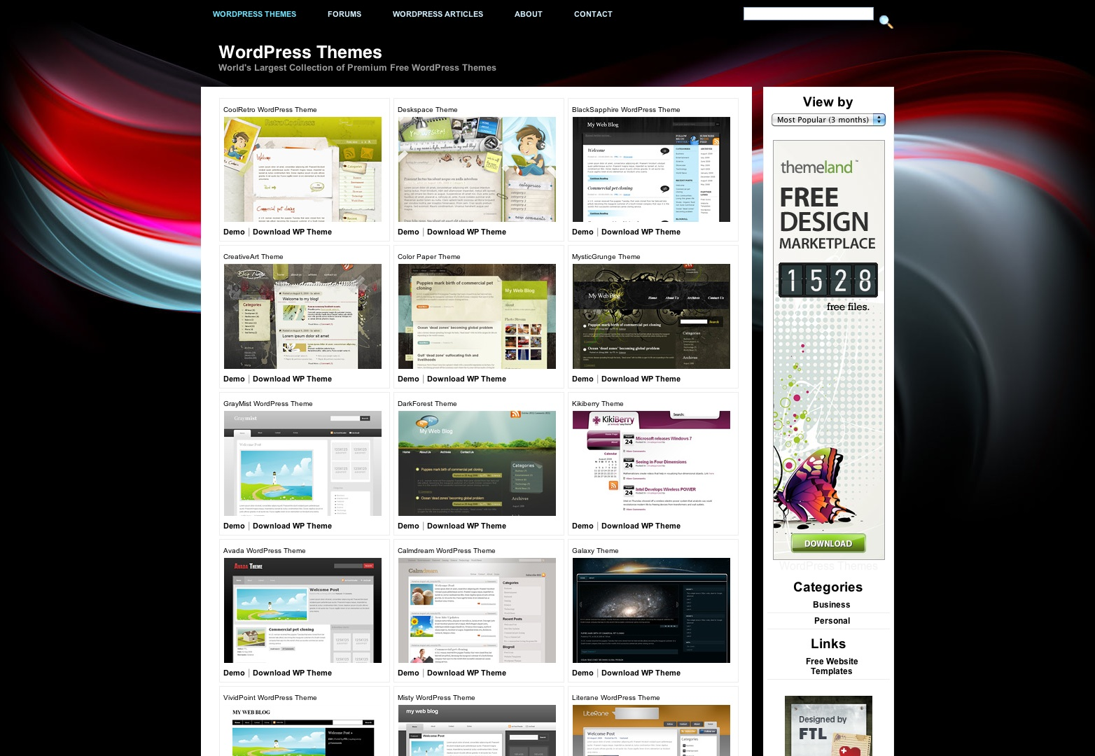 themes and templates melo in tandem co