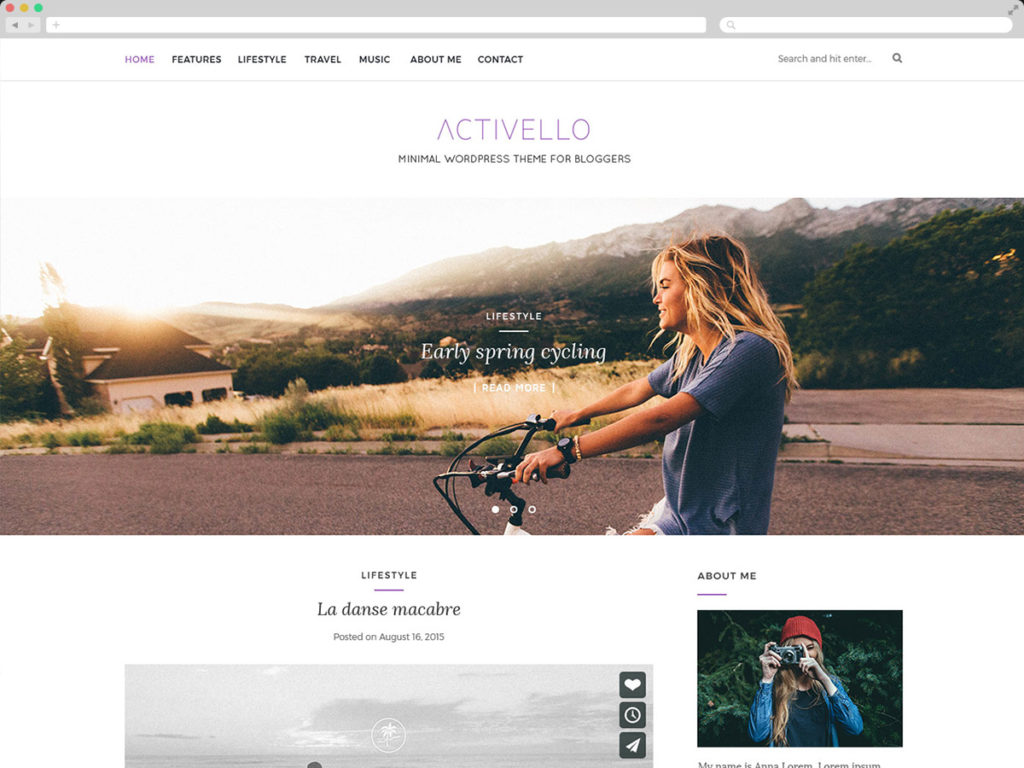 activello-simple-blog-theme-sample-templates