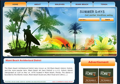 palm-tree-themes-templates
