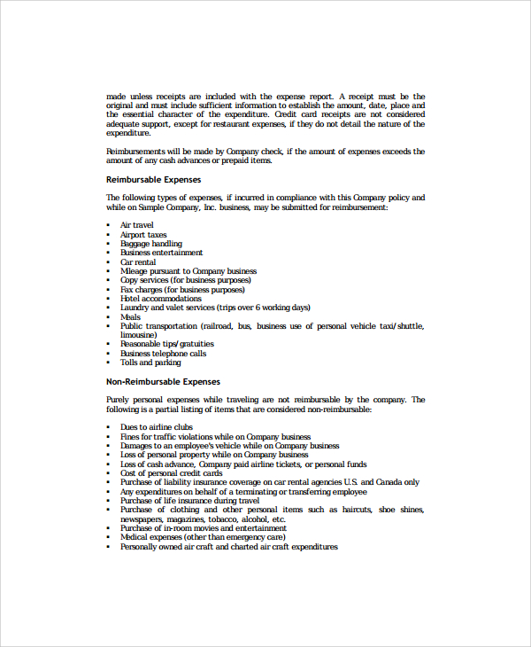 printable-word-doc-sample-corporate-travel-policy