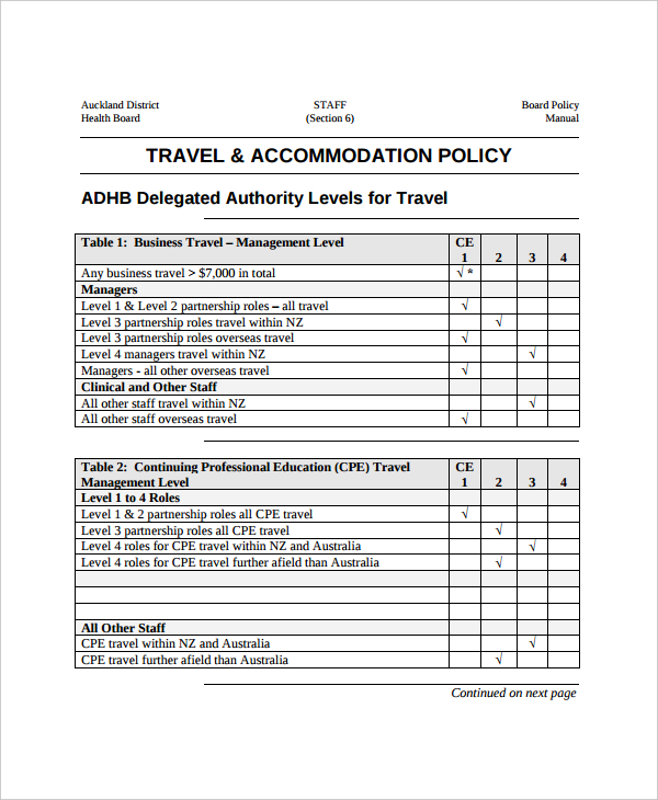 printable-word-doc-travel-accommodation-policy-template