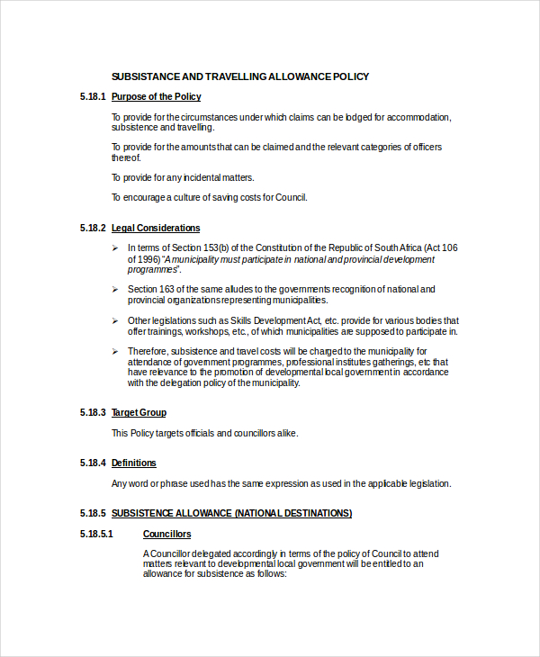 printable-word-doc-travel-allowance-policy-template
