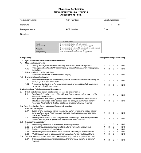 Training Effectiveness Evaluation Form Doc