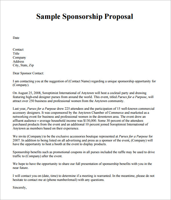 New Proposal Template Designs  Samples And Templates