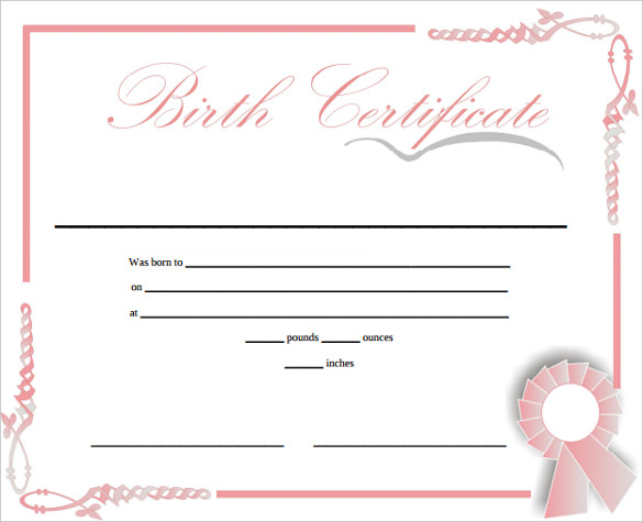 Birth certificate sample doc gallery certificate design and template birth certificate prinable free printable birth certificate birth certificate prinable free printable birth certificate template doc yadclub Choice Image