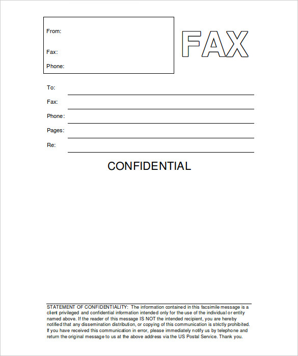 20 New Fax Cover Sheet U2013 Download These Free Templates In PDF, DOC, JPEG  And Also Microsoft Word  Fax Cover Letter Doc