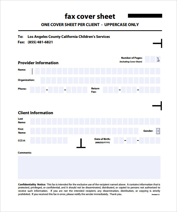 20 New Fax Cover Sheet U2013 Download These Free Templates In PDF, DOC, JPEG  And Also Microsoft Word  Fax Template For Word