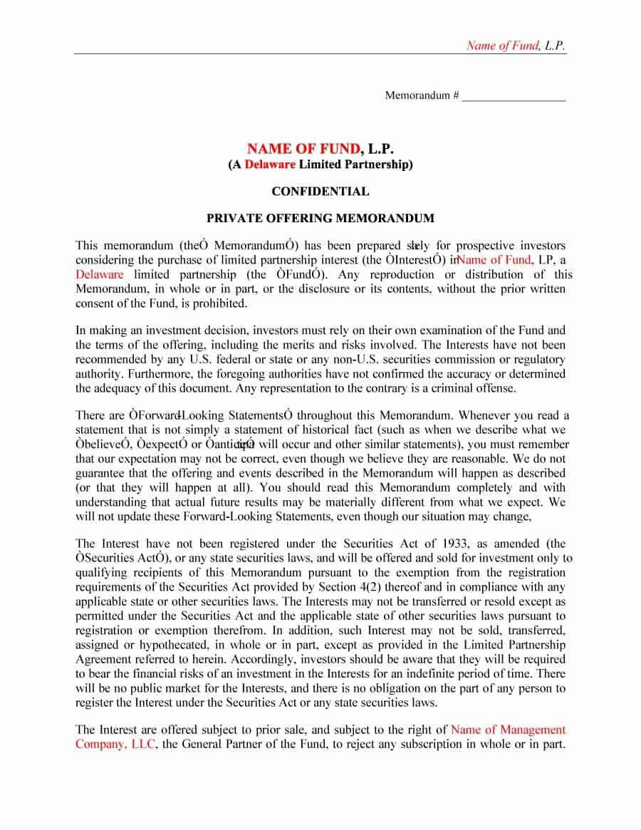 Printable-free-private-placement-memorandum-template (20)