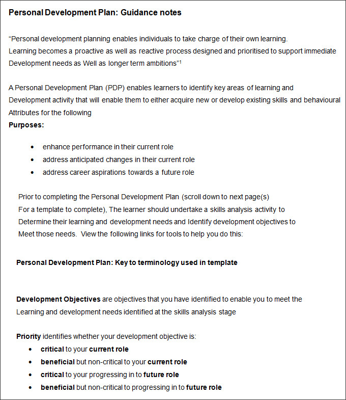 career-development-plan-template-pdf-doc-printable