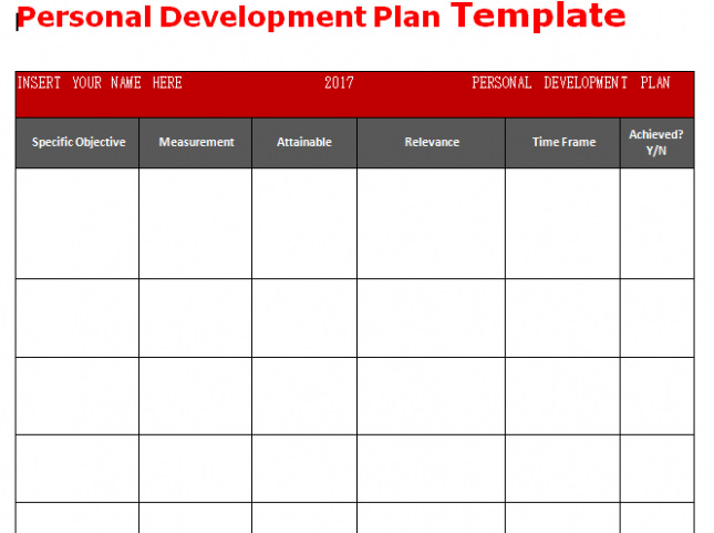 Personal Business Plan Template | Download Get Personal Development Plan Template Word Microsoft
